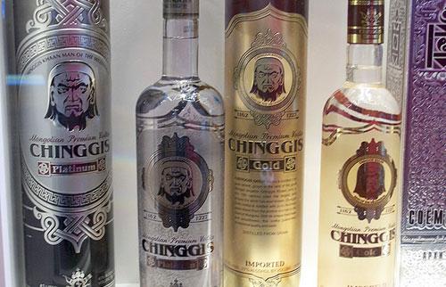Bottled Mongolian Airag Vodka