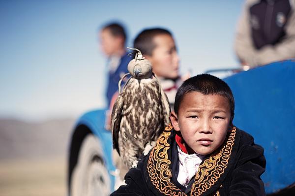 Les enfants des steppes de Mongolie