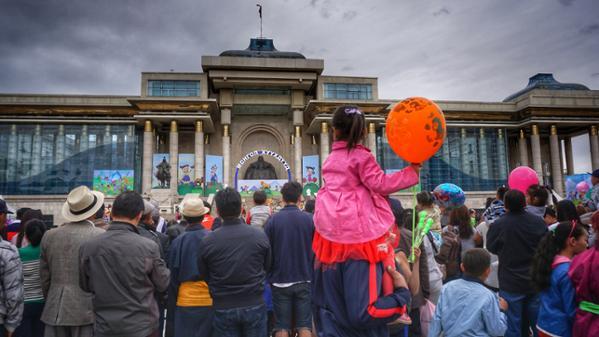 La journée des enfants en Mongolie