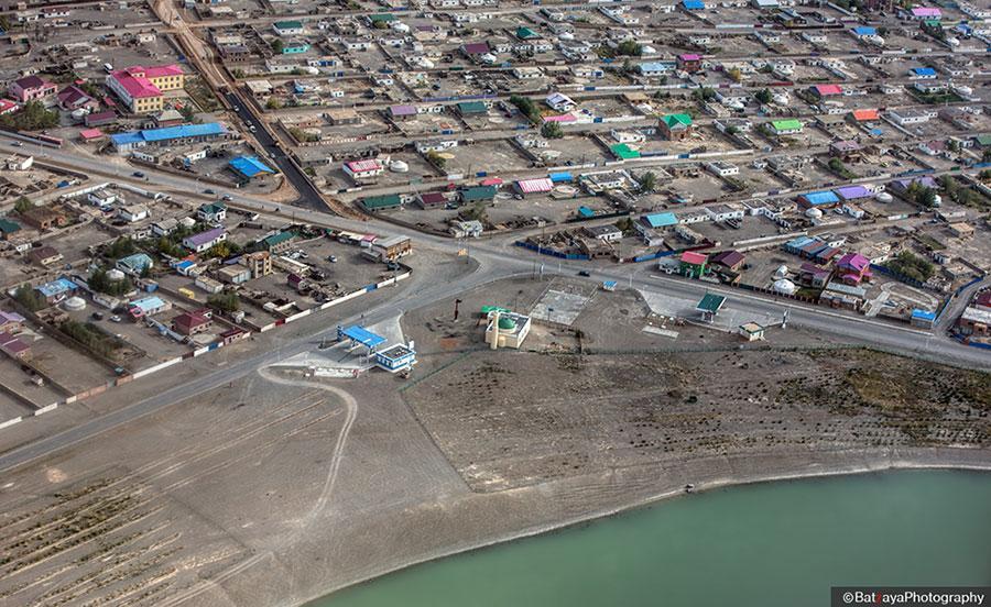 La Mongolie vue du Ciel par Batzaya