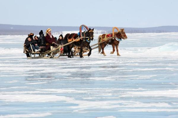 Ice Festivals in Mongolia