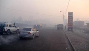 Pollution Oulan Bator