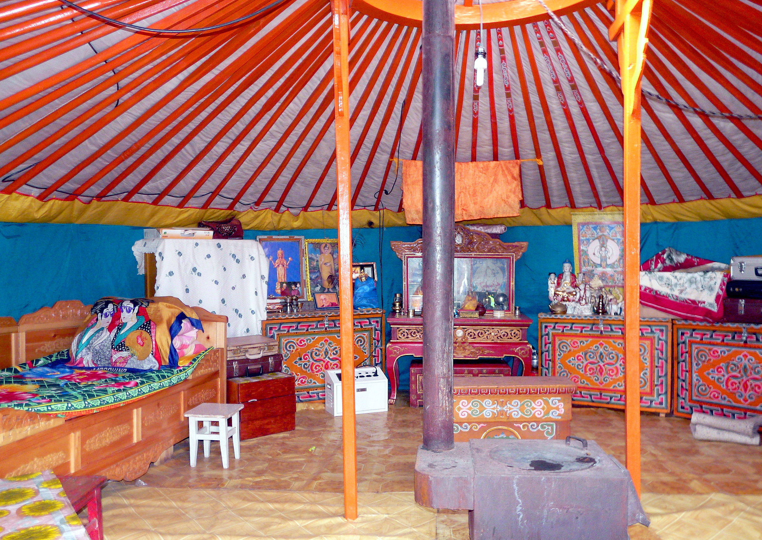 la yourte mongole voyage mongolie. Black Bedroom Furniture Sets. Home Design Ideas