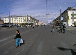 Manifestation rues Ulaanbaatar