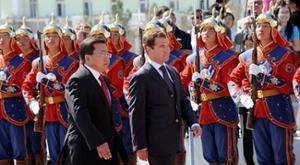 Medvedev Elbegdorj