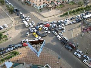 Oulan Bator Traffic