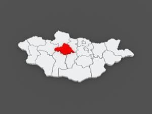 Carte de l'Arkhangai