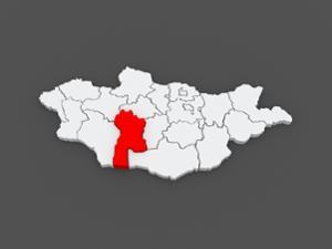 Carte de la province du Bayankhongor