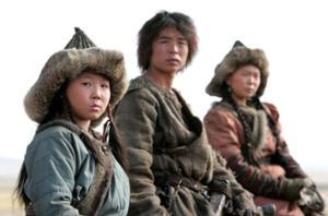 Temujin né à l'époque des clans mongols