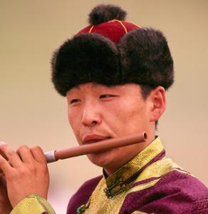 Flûte cuur en Mongolie