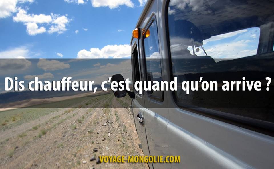 Chauffeur on arrive quand