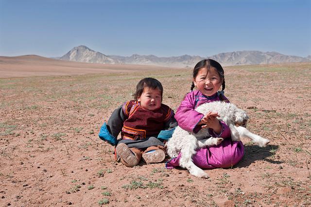 enfants et infini des paysages