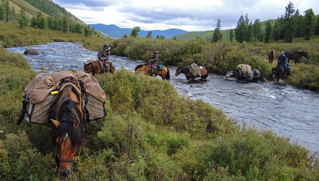 Trek Khentii Mongolie