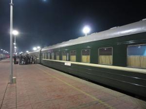 Train Oulan-bator Erlian