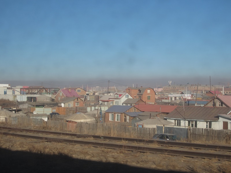 Train Oulan Bator Mongolie
