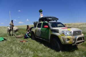 Caméra Street View Mongolie