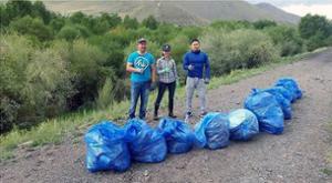 Défi pour nettoyer la Mongolie