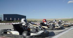Karting en Mongolie