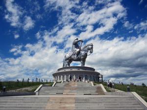 Statue équestre Gengis Khan