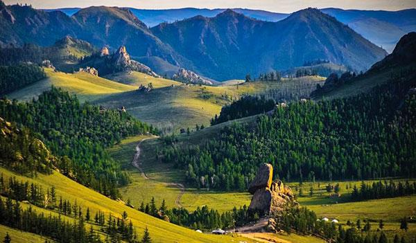 Mongolia in the top 10 countries to visit in 2017!