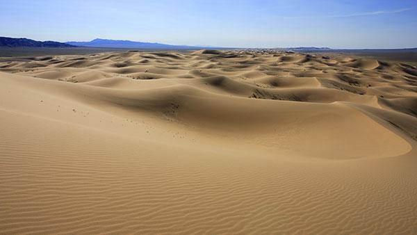 Dunes désert de Gobi