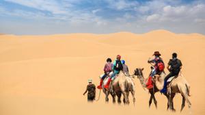 Désert de Gobi en Mongolie