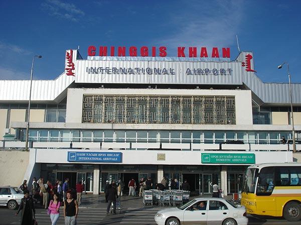 aeroport Gengis Khan Mongolie