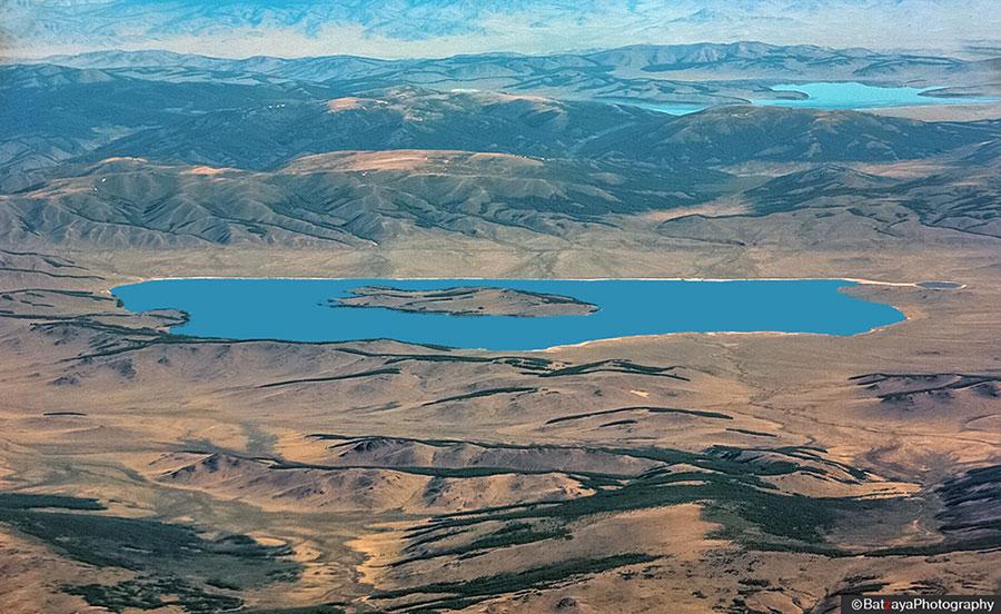 bust lake Mongolie