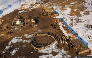 Hiver nomade en Mongolie