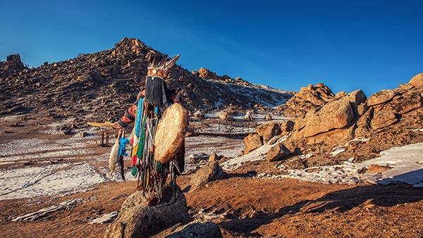 Chamanes de Mongolie