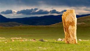 Pierre à Cerf en Mongolie
